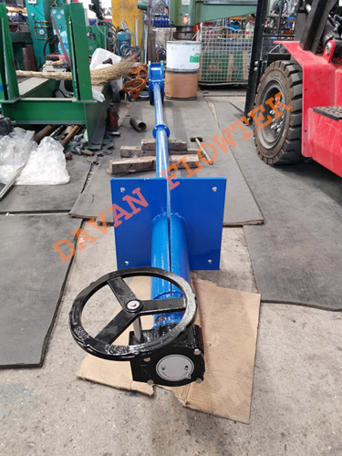butterfly valve with extension bar 2