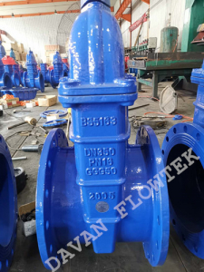 dn350 resilient seat gate valve