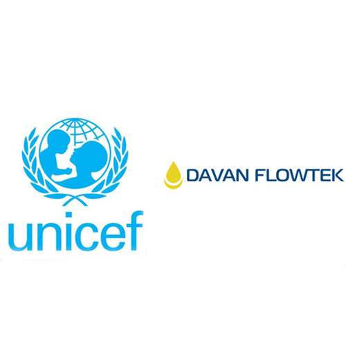 unicef and davan flowtek